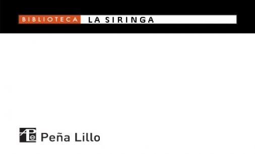 PEÑA LILLO - LA SIRINGA