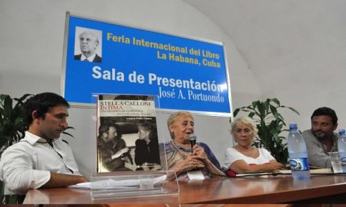 (02/03/2014) Presentación del Libro Stella Calloni Intima en La Habana