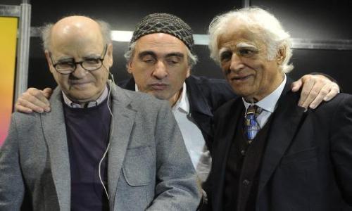 (29/05/2014) Quino y Ziraldo compartieron anécdotas con Rep