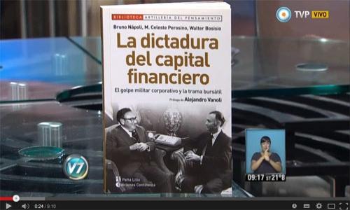 (28/01/2015) Entrevista con Bruno Napoli en Visión 7 de la TV Pública.