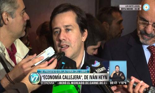 (28/05/2015) Presentación de Economía Callejera en la TV Pública (29/04/2015)