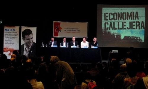 (28/05/2015) Presentación de Economía Callejera en Infobae (30/04/2015)