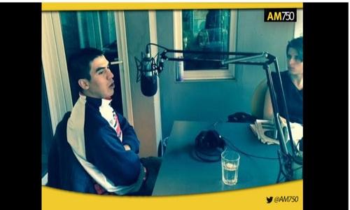 (24/06/2015) Entrevista a César González en Uno Nunca Sabe AM 750
