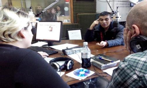 (03/07/2015) Entrevista a César González en Spam! por Nacional Rock