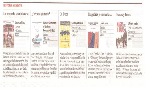 (21/02/2015) Masas y Balas en la revista Ñ