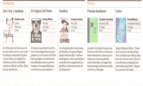 (28/02/2015) Sandino en la revista Ñ