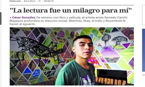 (26/02/2015) Entrevista a César González en el Sí de Clarín