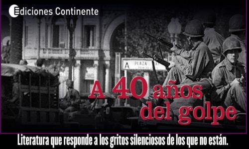 (24/03/2016) Gustavo Sylvestre agradece libros a 40 años del Golpe de Estado