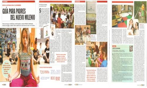 (06/05/2016) Tranquilos y atentos como una rana en la revista Veintitrés