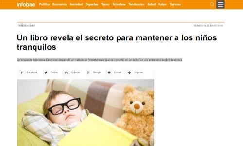 (14/05/2016) Entrevista a Eline Snel en Infobae