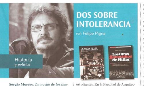 (01/12/2016) Felipe Pigna recomienda Los otros genocidios en la revista Quid de noviembre