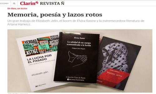 (22/08/2017) Elvira Sastre en Clarin.com