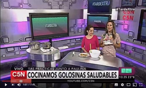 (29/04/2017) Paulina cocina en Tarde Extra por C5N