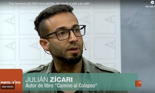 (22/12/2018) Ebtrevista a Julián Zícari en Canal Abierto