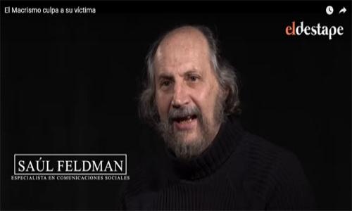 (18/09/2019) Entrevista a Saúl Feldman en El Destape