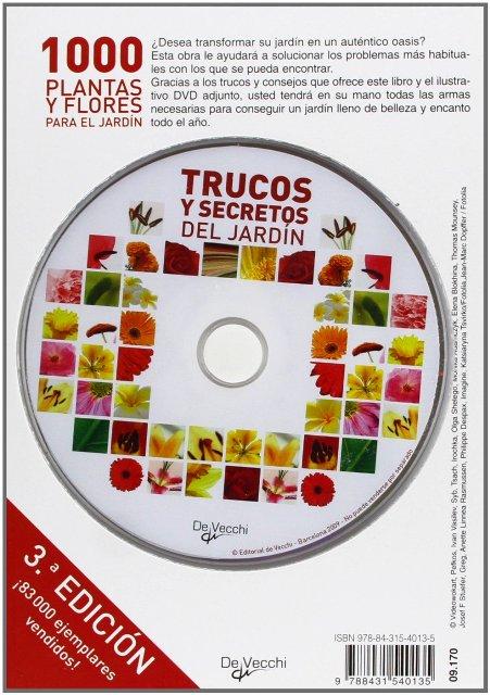 1000 PLANTAS Y FLORES PARA EL JARDIN (L + DVD)