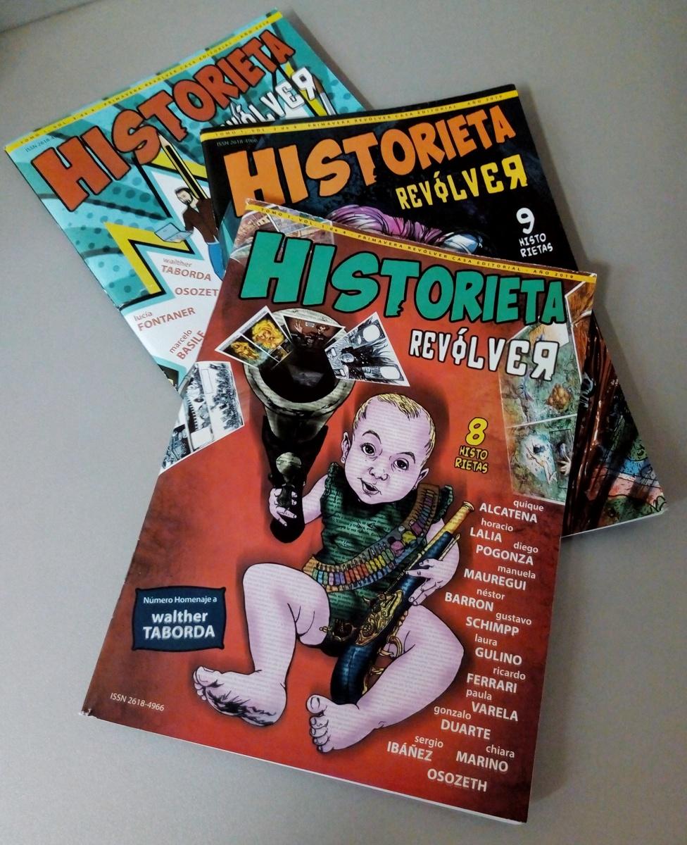 HISTORIETA REVOLVER -PACK NRO. 1/2/3