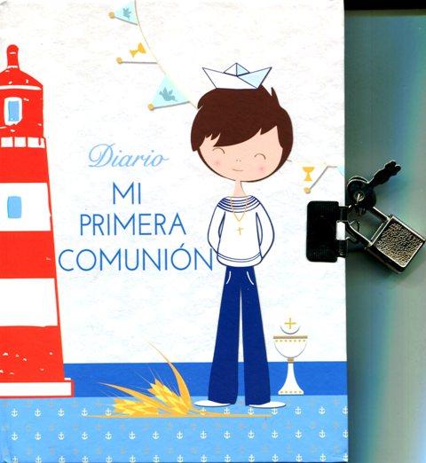 DIARIO MI PRIMERA COMUNION - CELESTE
