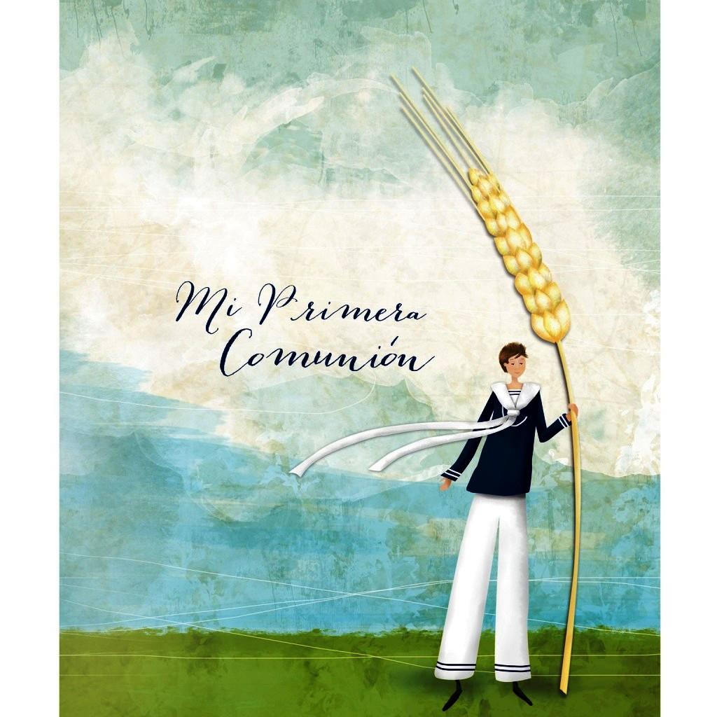 MI PRIMERA COMUNION - NIÑO - ESPIGA
