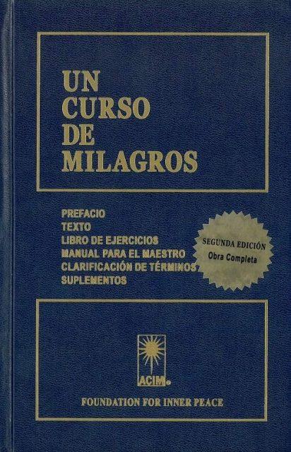 UN CURSO DE MILAGROS C/ SUPLEMENTOS
