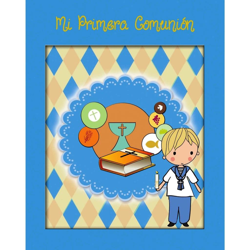 MI PRIMERA COMUNION - CALIZ - NIÑO