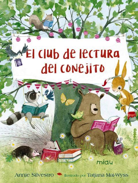 EL CLUB DE LECTURA DEL CONEJITO + QR CON ACTIVIDADES