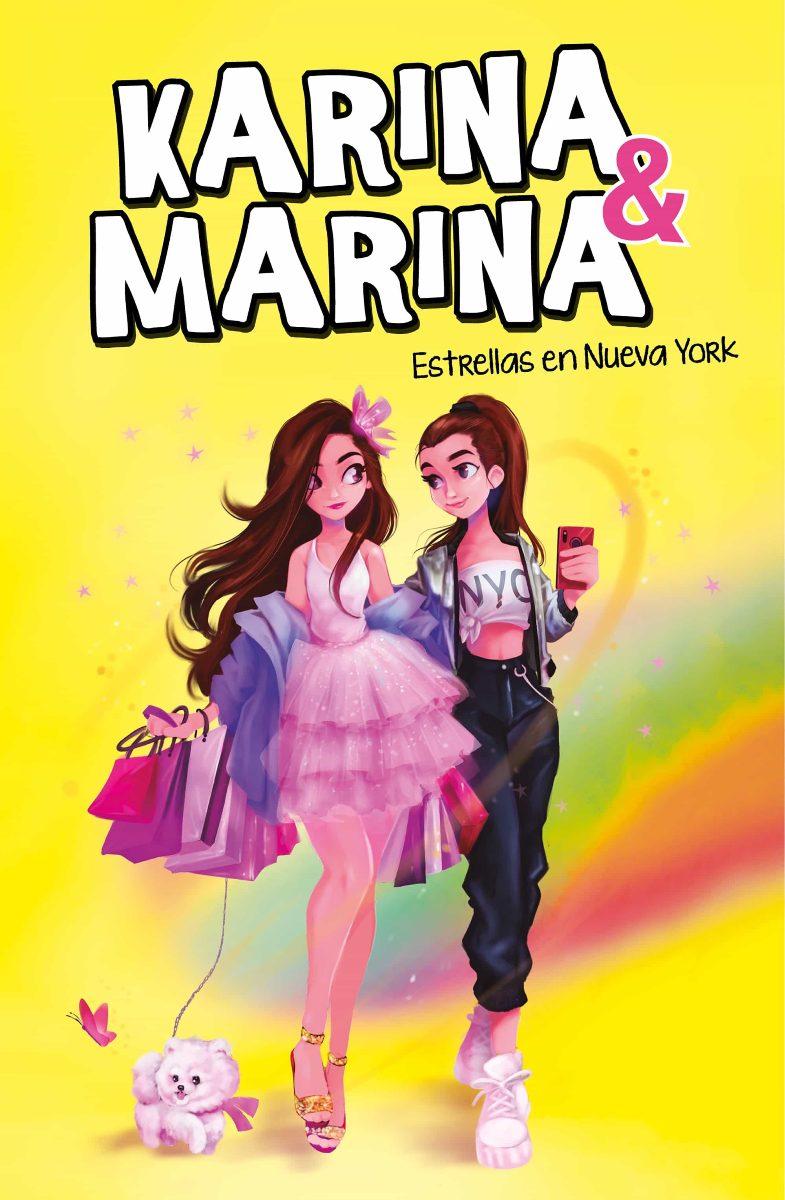 ESTRELLAS EN NUEVA YORK . KARINA & MARINA