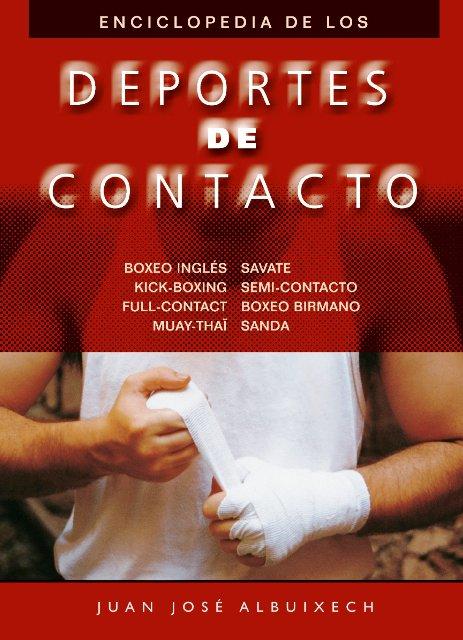 DEPORTES DE CONTACTO. ENCICLOPEDIA