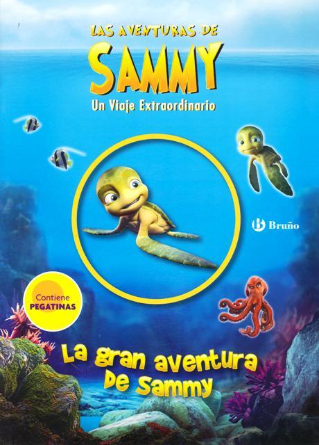 LA GRAN AVENTURA DE SAMMY (pegatinas) . LAS AVENTURAS DE SAMMY
