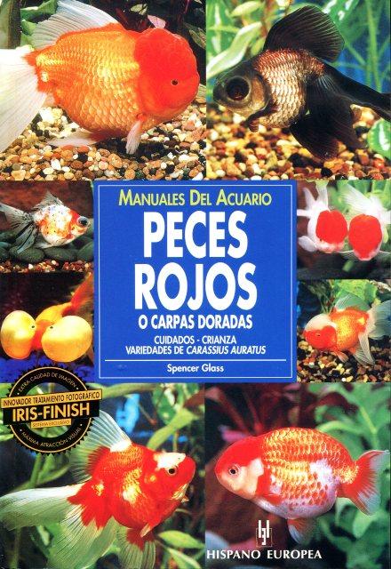 PECES ROJOS O CARPAS DORADAS , MANUALES DEL ACUARIO