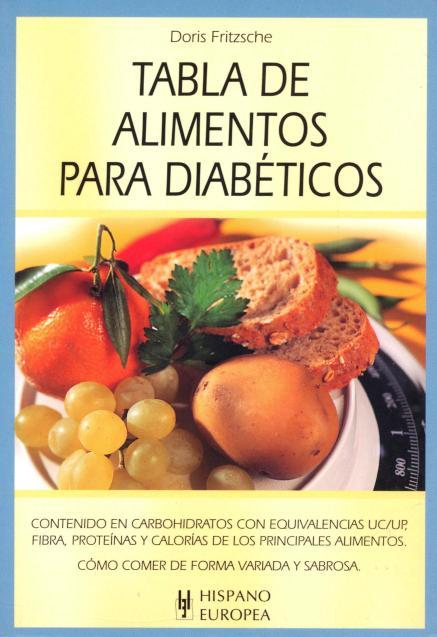 PARA DIABETICOS TABLA DE ALIMENTOS