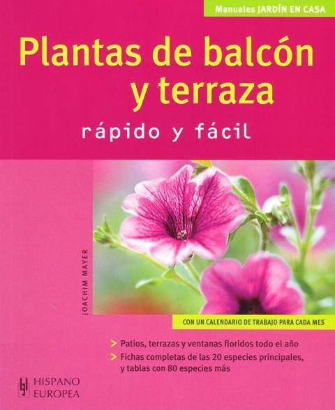 PLANTAS DE BALCON Y TERRAZA . RAPIDA Y FACIL