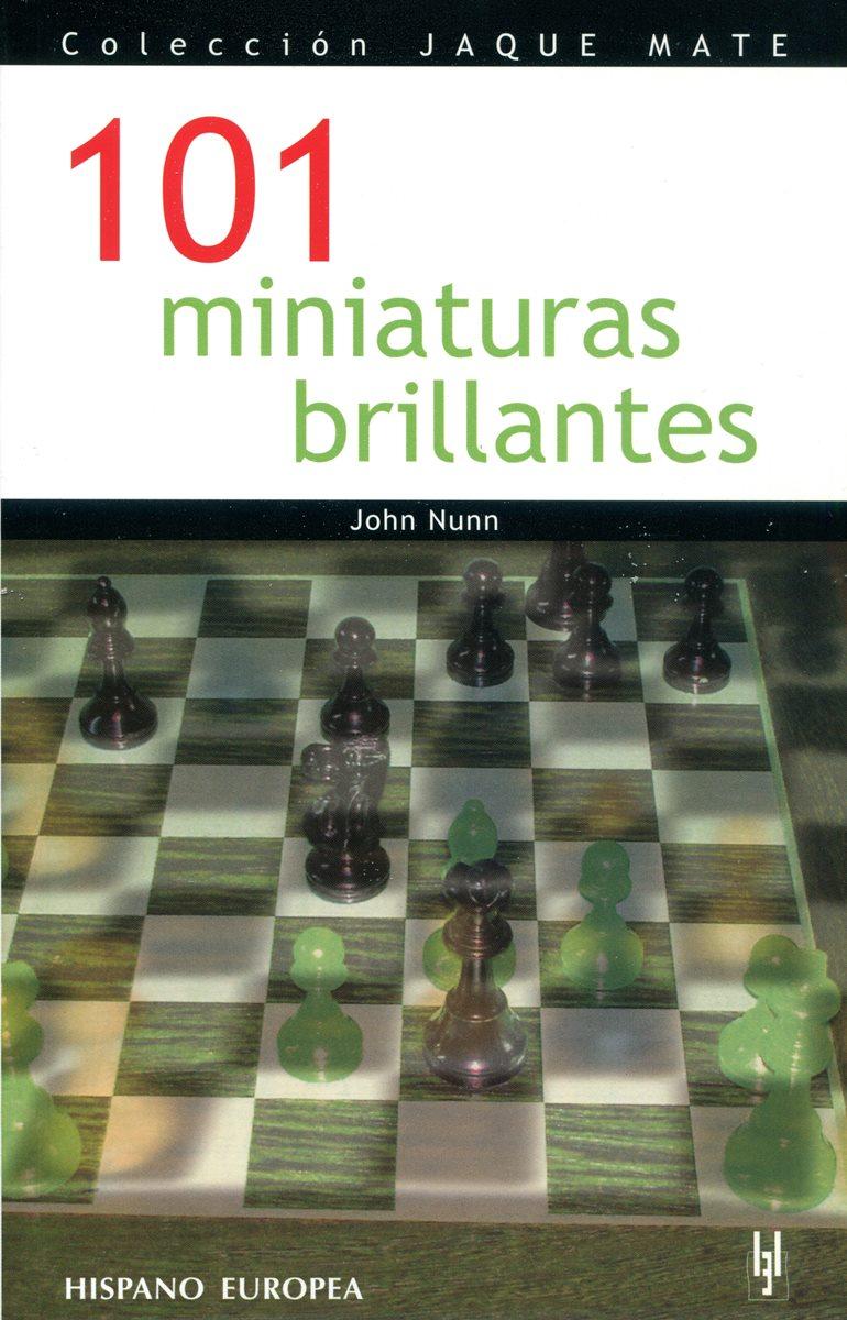 101 MINIATURAS BRILLANTES . COLECCION JAQUE MATE