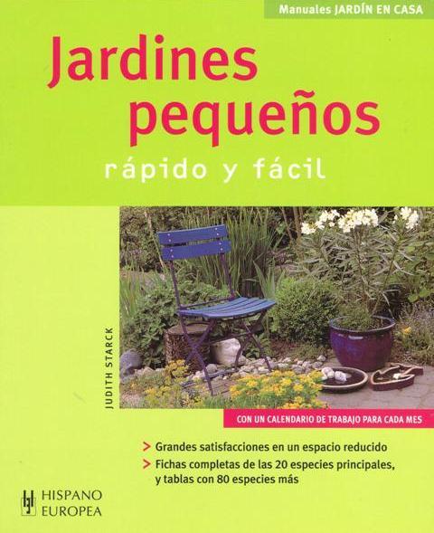 JARDINES PEQUEÑOS . RAPIDO Y FACIL