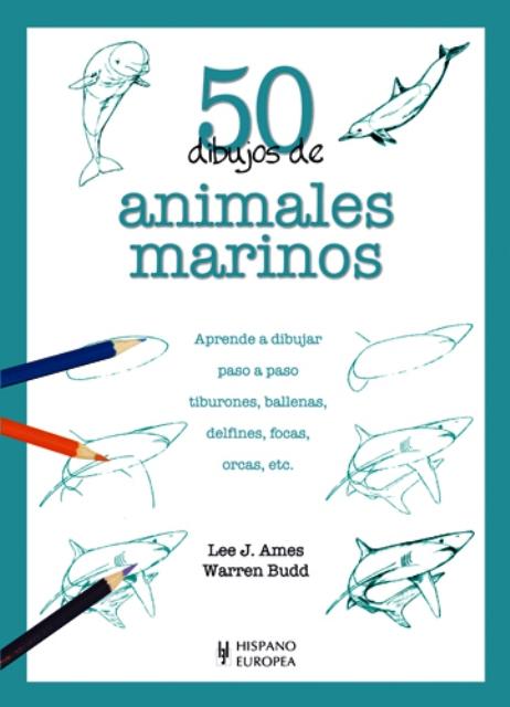 ANIMALES MARINOS 50 DIBUJOS DE