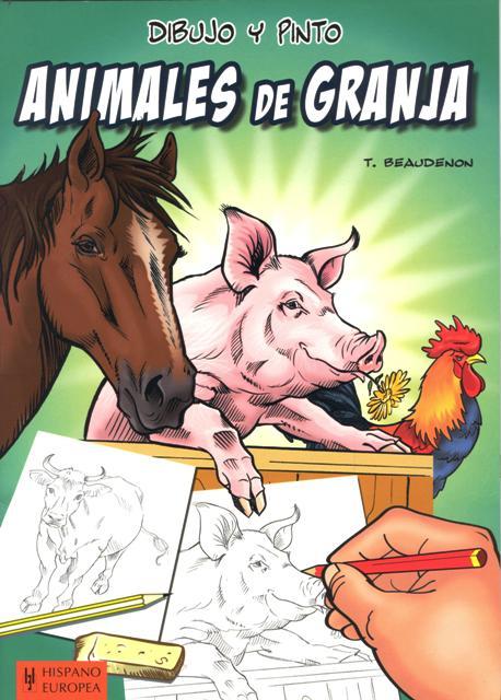 ANIMALES DE GRANJA . DIBUJO Y PINTO