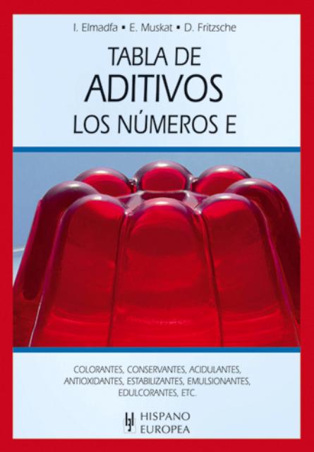TABLA DE ADITIVOS . LOS NUMEROS E