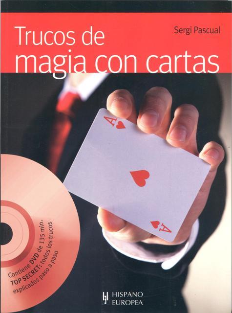 TRUCOS DE MAGIA CON CARTAS C/DVD