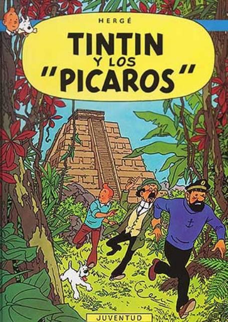 TINTIN Y LOS PICAROS (RUST.)
