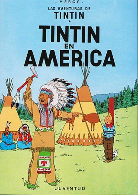 TINTIN EN AMERICA (RUST.)