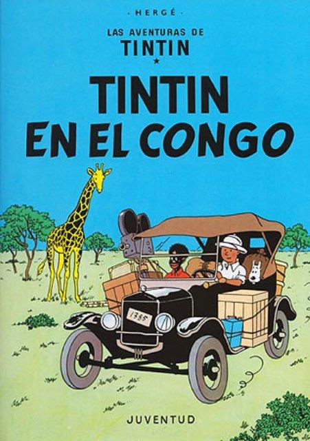 TINTIN EN EL CONGO (RUST.)