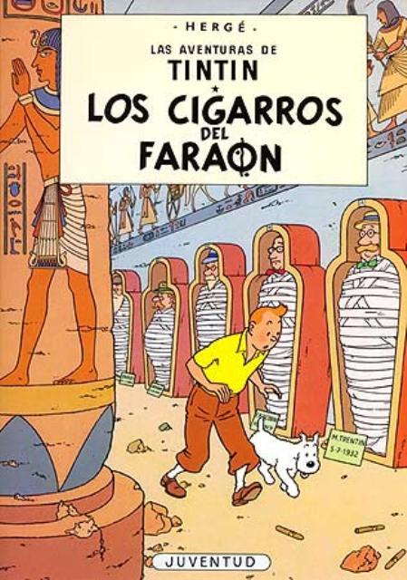 LOS CIGARROS DEL FARAON (RUST.)