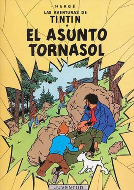 EL ASUNTO TORNASOL - TINTIN (RUST.)