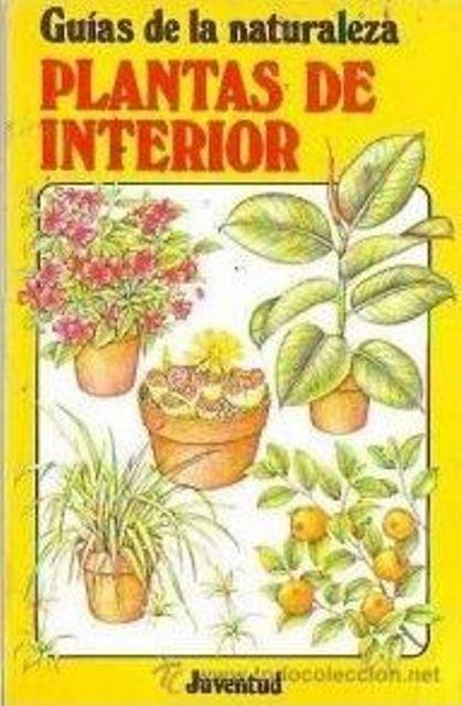 PLANTAS DE INTERIOR . GUIAS DE LA NATURALEZA