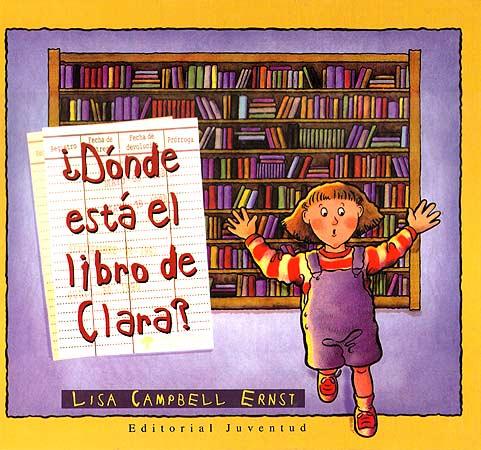 DONDE ESTA EL LIBRO DE CLARA ?