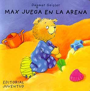 MAX JUEGA EN LA ARENA