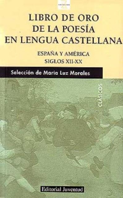 LIBRO DE ORO POESIA LENGUA CASTELLANA