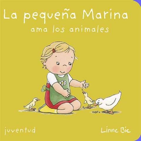 LA PEQUEÑA MARINA AMA LOS ANIMALES