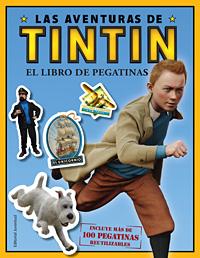 EL LIBRO DE PEGATINAS . LAS AVENTURAS DE TINTIN