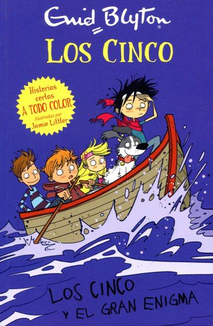 LOS CINCO Y EL GRAN ENIGMA . LOS CINCO (RUST.)